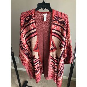 Fun Poncho Sweater